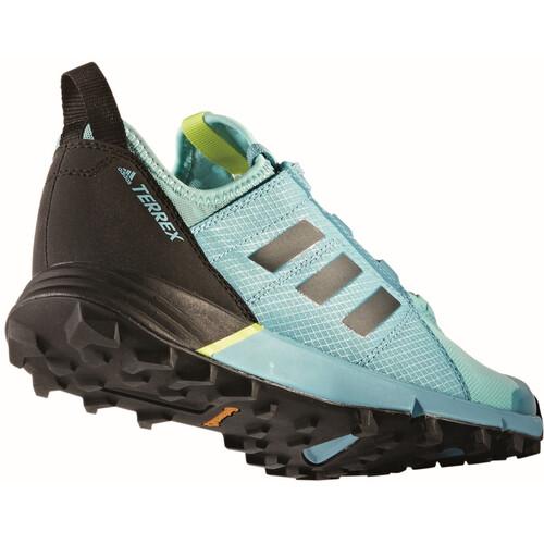 adidas TERREX Agravic Speed - Chaussures running Femme - turquoise sur campz.fr !